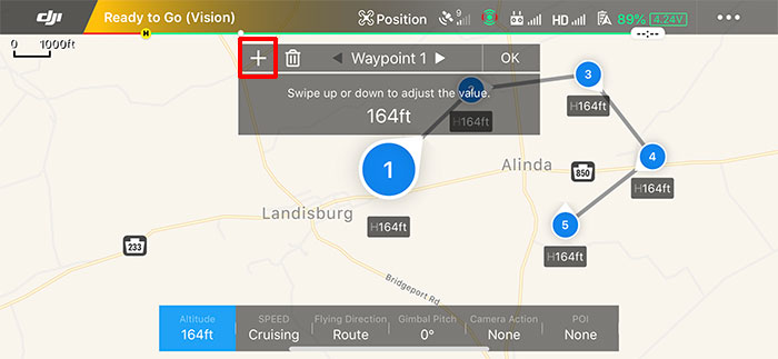 Fly automated missions with Waypoints 2 0 | Mavic Help